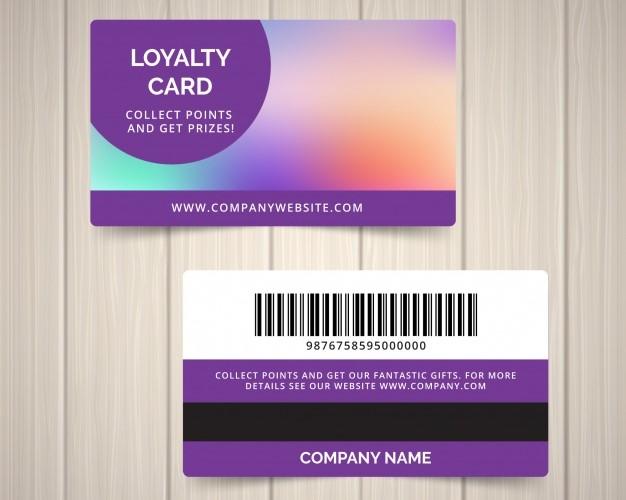 Loyalty card details là gì?