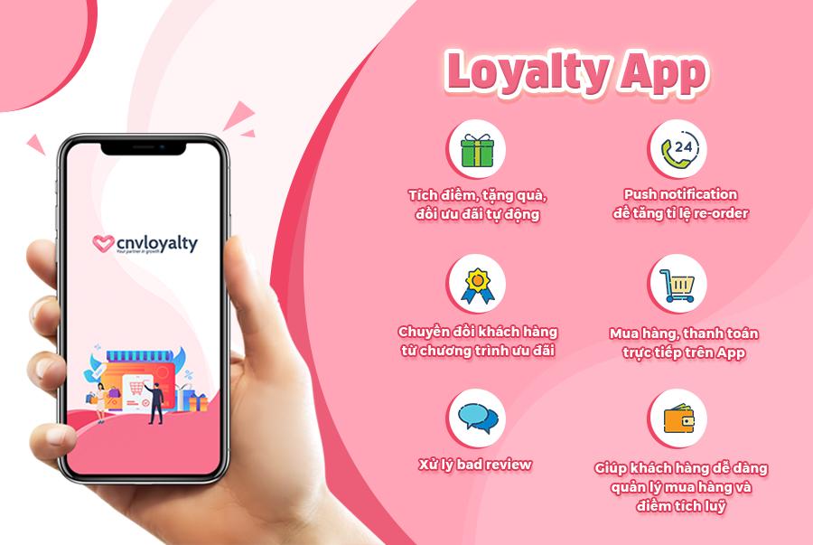 Giải pháp chăm sóc khách hàng 4.0 qua Loyalty App