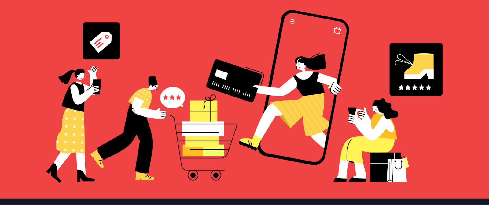 Phân loại Mobile Commerce
