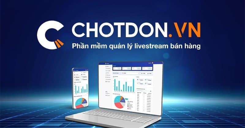 Phần mềm chốt đơn hàng Online Chotdon